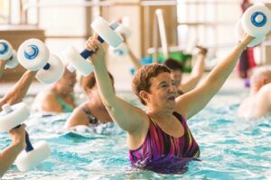 Aqua Exercises @ Indoor Pool